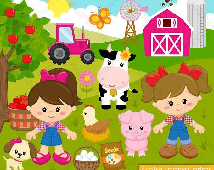 Boys farm clip art. Farmers clipart happy farmer