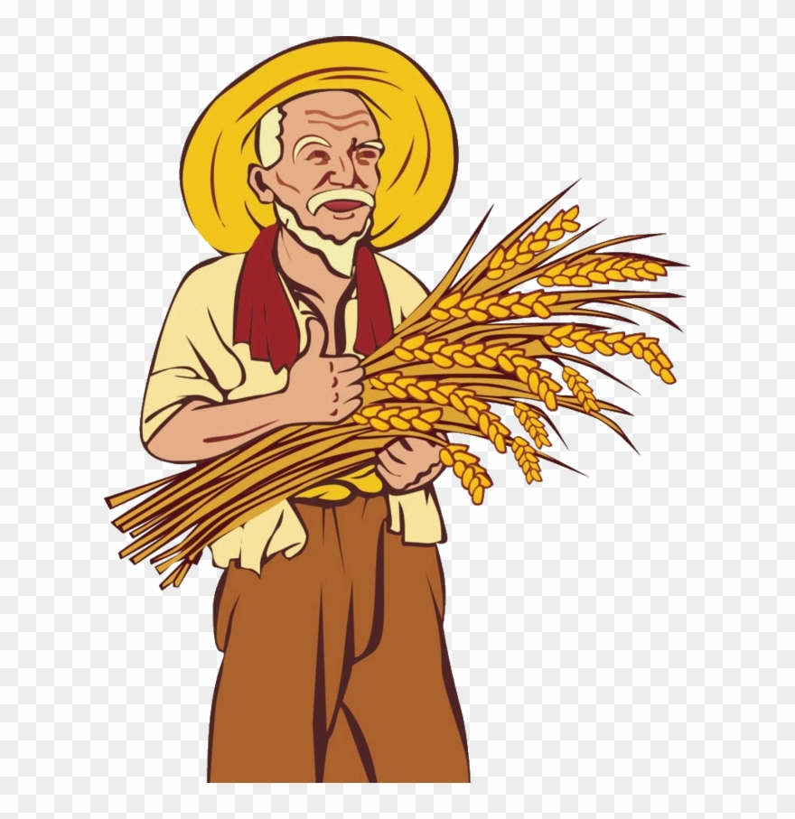 Png free library farmer. Farmers clipart illustration