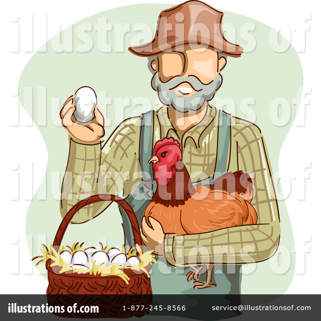 Farmer by bnp design. Farmers clipart illustration