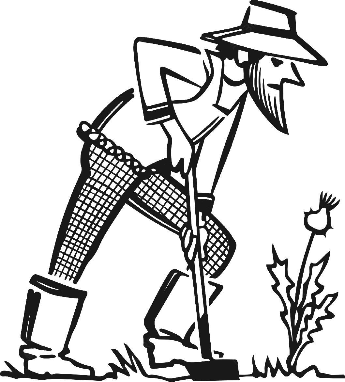 Farmers clipart line art. Free farm planting cliparts
