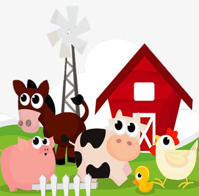 Farm animals png animal. Farmers clipart livestock farming