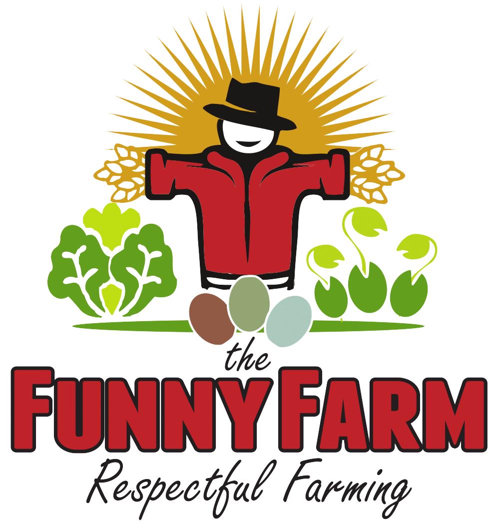 Farming clipart rice farmer. The funny farm organic