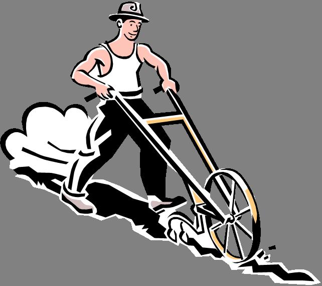 Farming clipart ploughing. Tillerman