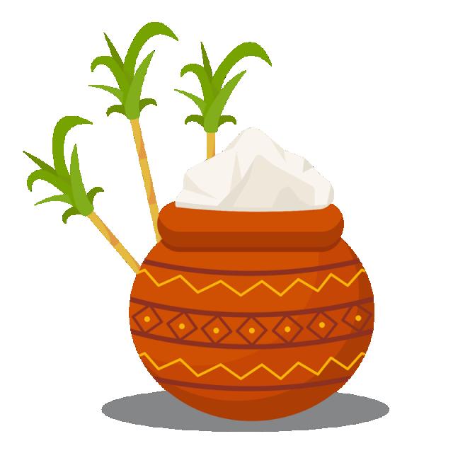 Free download pot happy. Farming clipart pongal