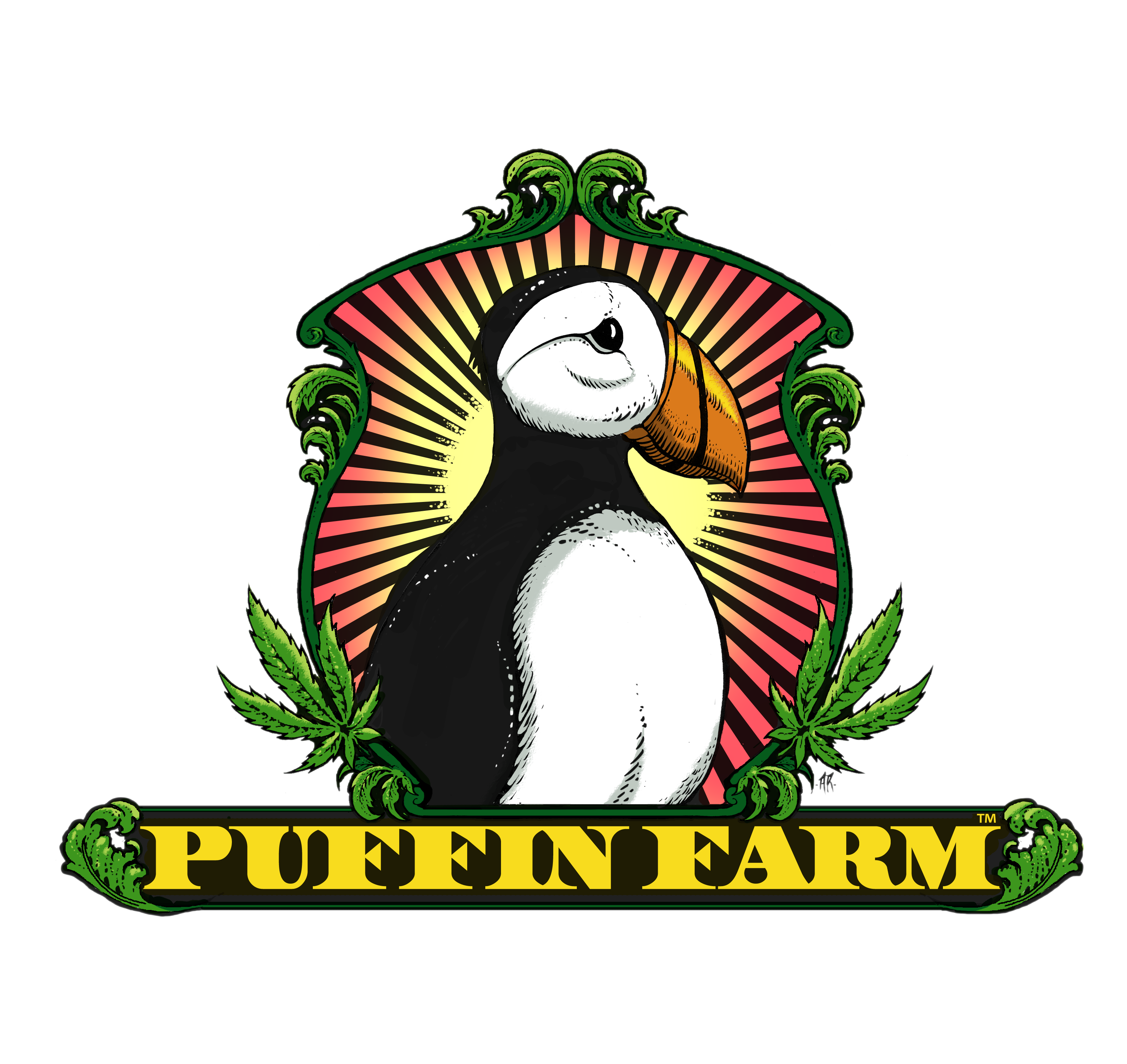 Puffin farm i processor. Farmers clipart producer economics