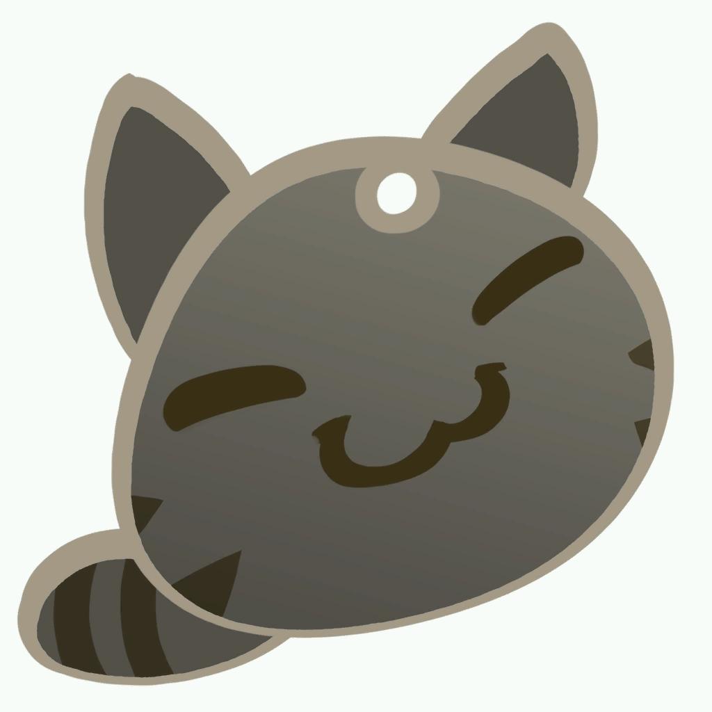 Kitten clipart striped cat. Tabby slime rancher wikia