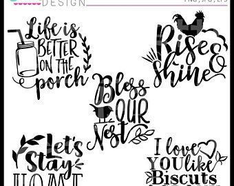 Etsy farm lettering home. Farmhouse clipart