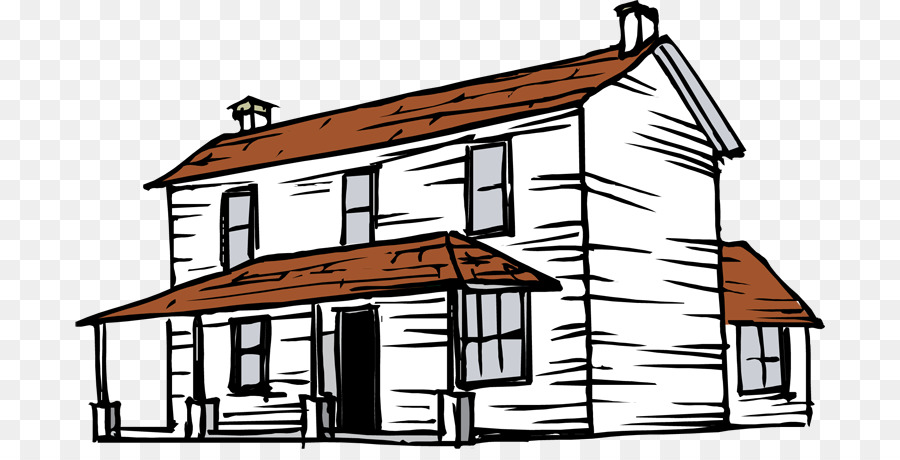 Farmhouse clipart. Building clip art free