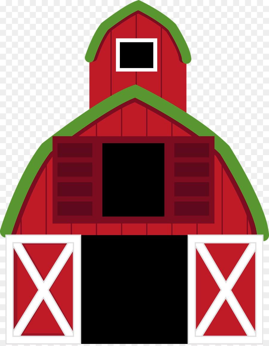 With of a farm. Farmhouse clipart barnyard