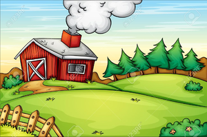 Free images at clker. Farmhouse clipart cartoon