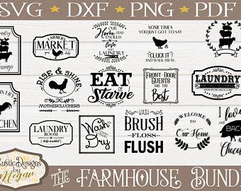 Farmhouse clipart clip art. Etsy