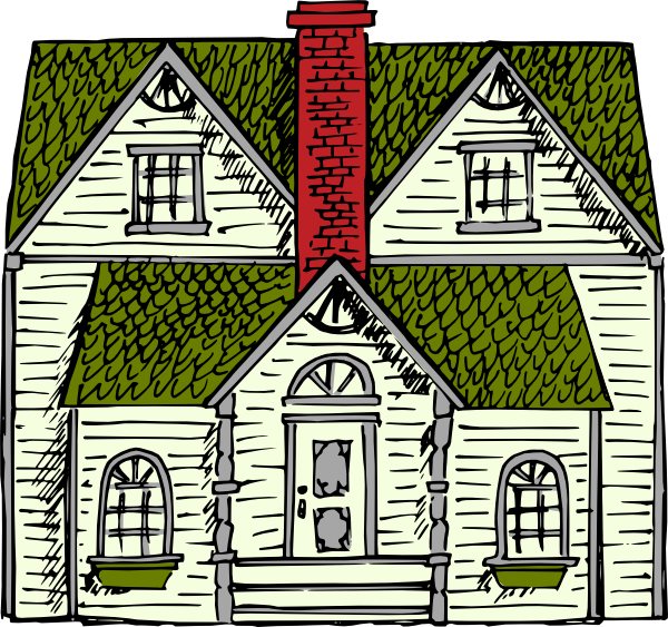 Farmhouse clipart colonial house. Free cliparts download clip