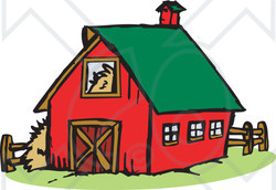 Farmhouse clipart country house. Free download best on
