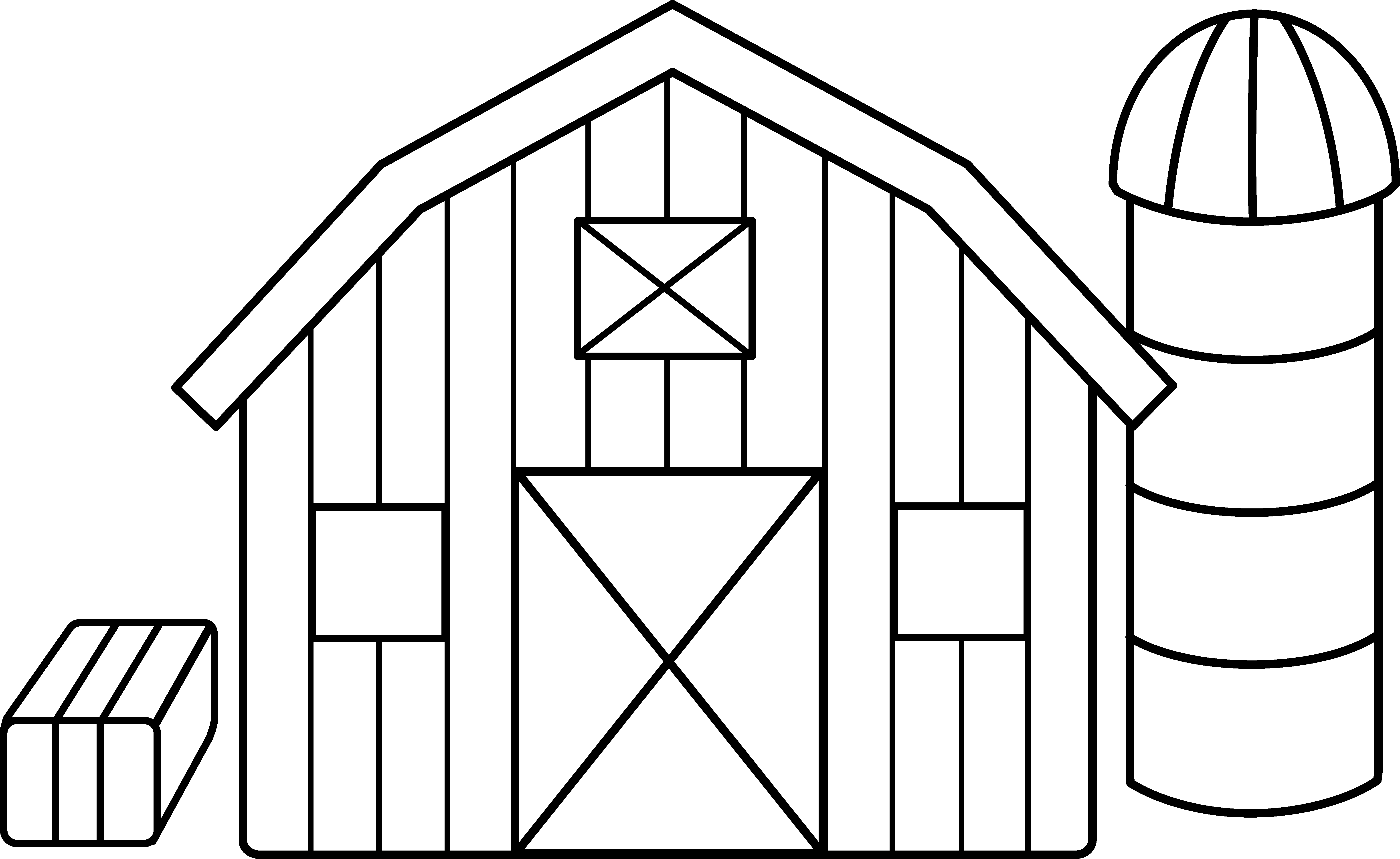 Farm coloring pages democraciaejustica. Farmhouse clipart country house