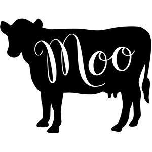 Farmhouse clipart cow. Silhouette design store cricut