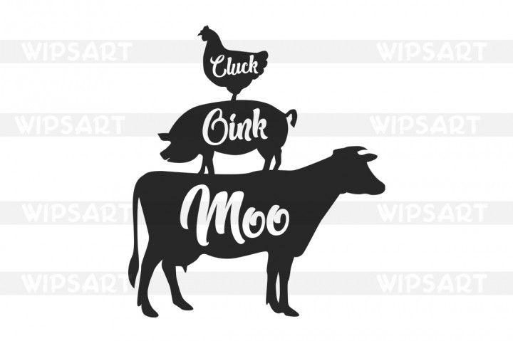 Farmhouse clipart dairy farm. Sale svg cow pig