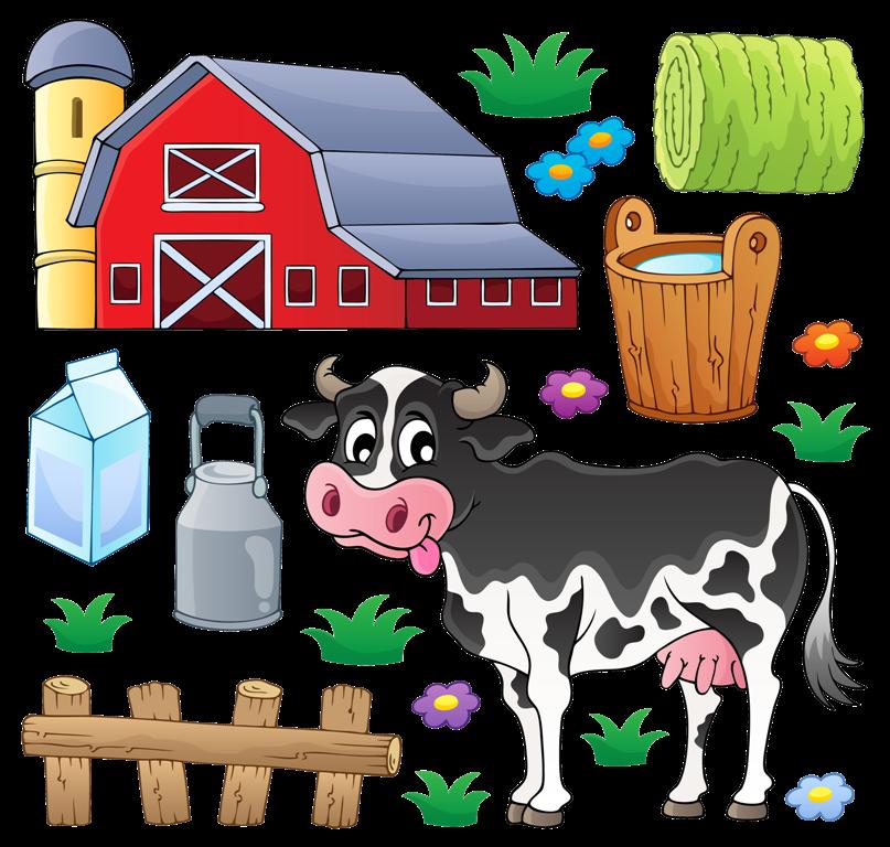 Http nachalo ka ru. Farmhouse clipart dairy farm