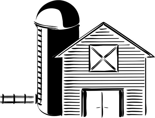 Imagem gratis no pixabay. Farmhouse clipart drawing