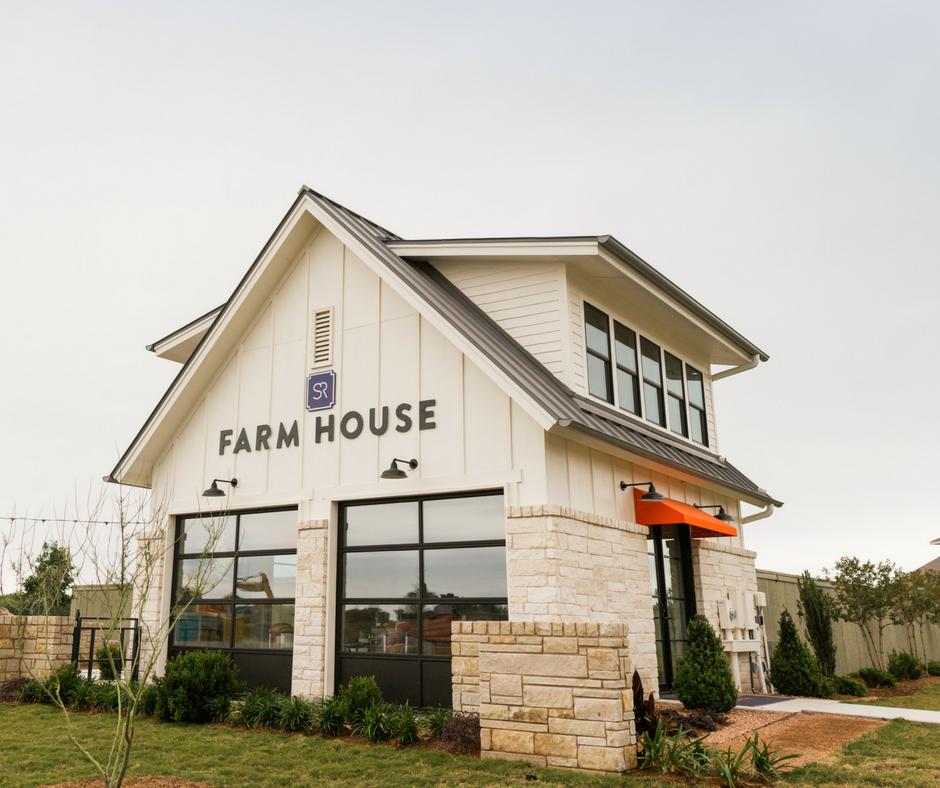 The house santa rita. Farmhouse clipart farm community