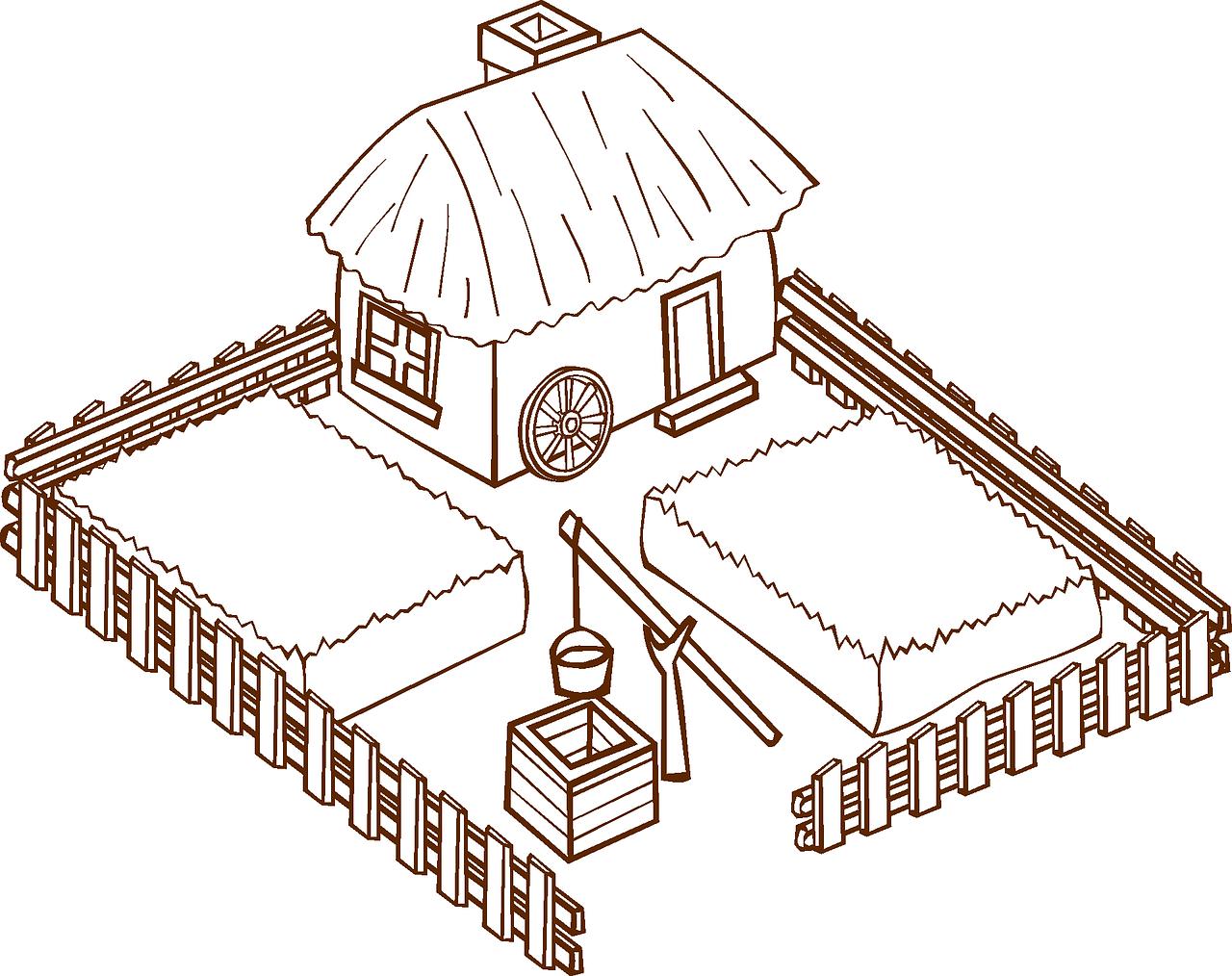 Farmhouse farm home