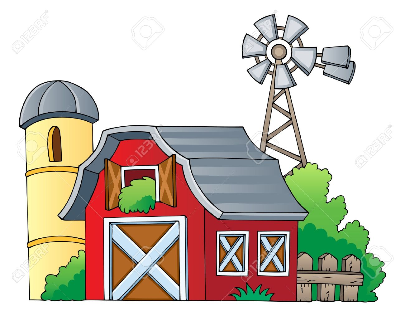 Farmhouse clipart farm land. Collection of free download