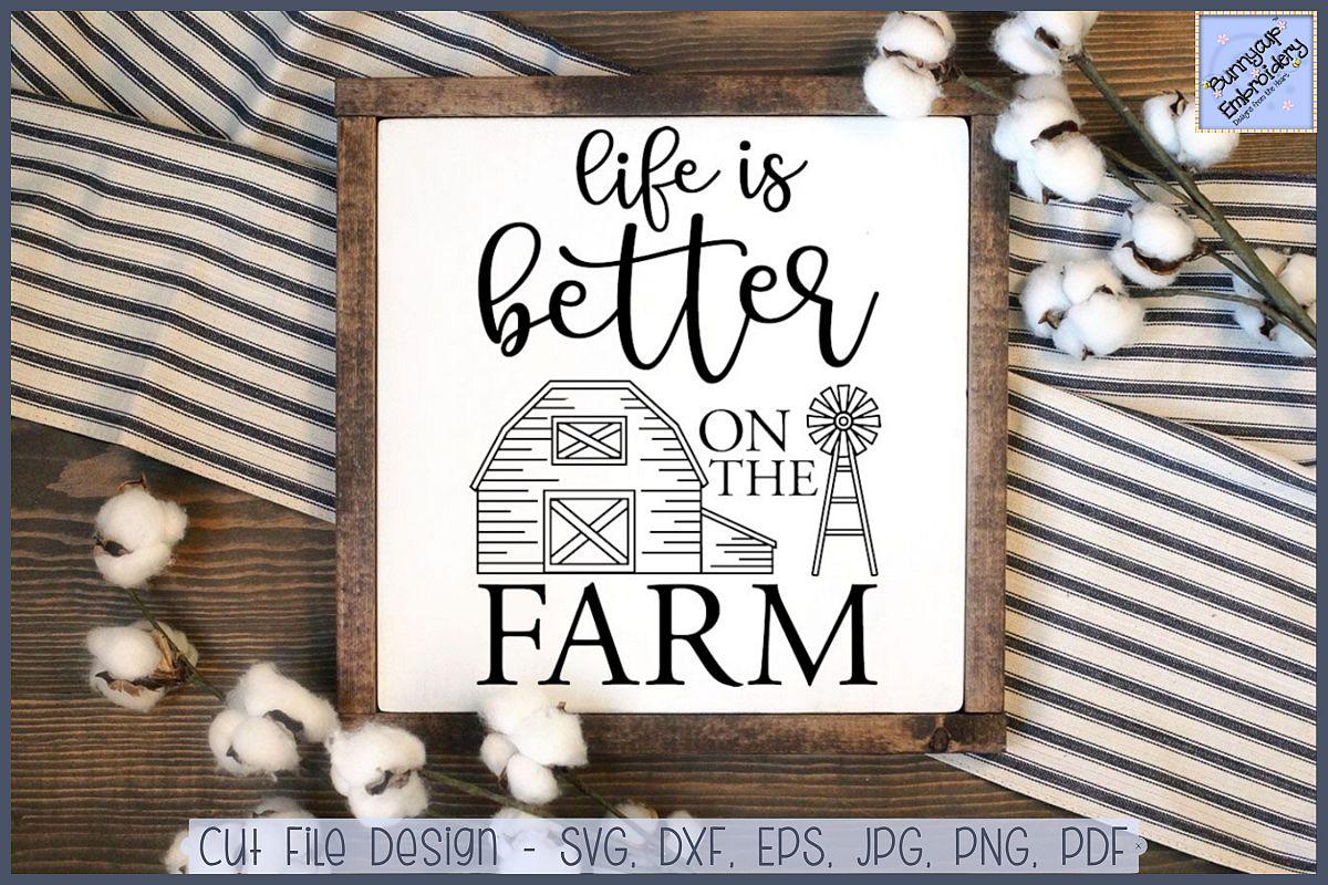 Farmhouse clipart farm life. Is better on the