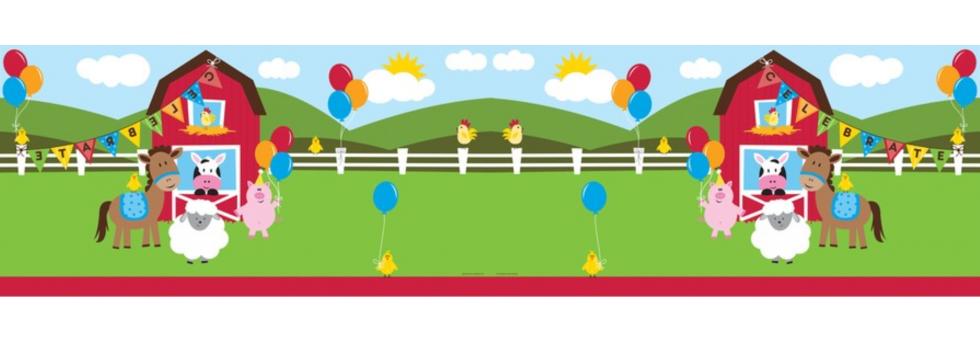 Streamers clipart party cracker. Farmhouse fun world