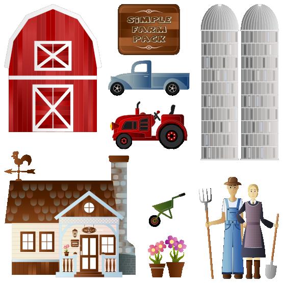 Farmhouse farm tour