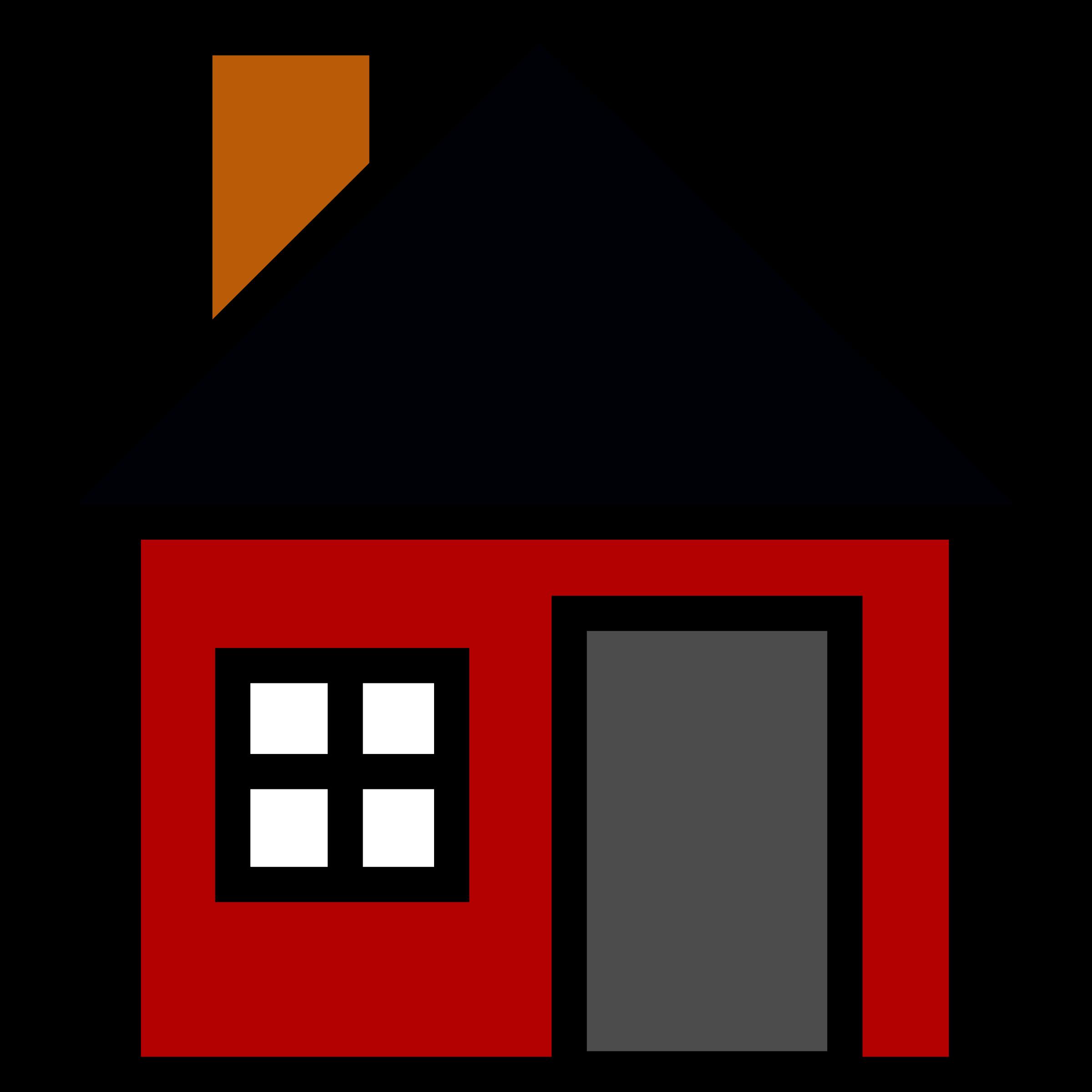 farmhouse clipart housing