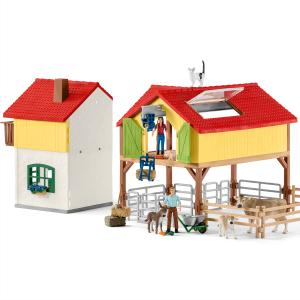House world schleich . Farmhouse clipart large farm