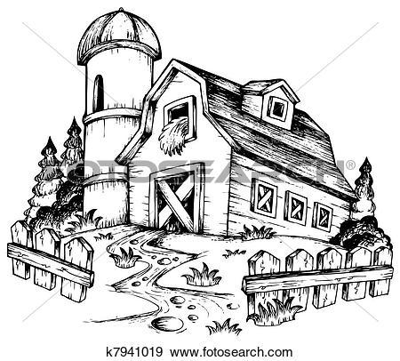 clipartlook. Farmhouse clipart old farmhouse