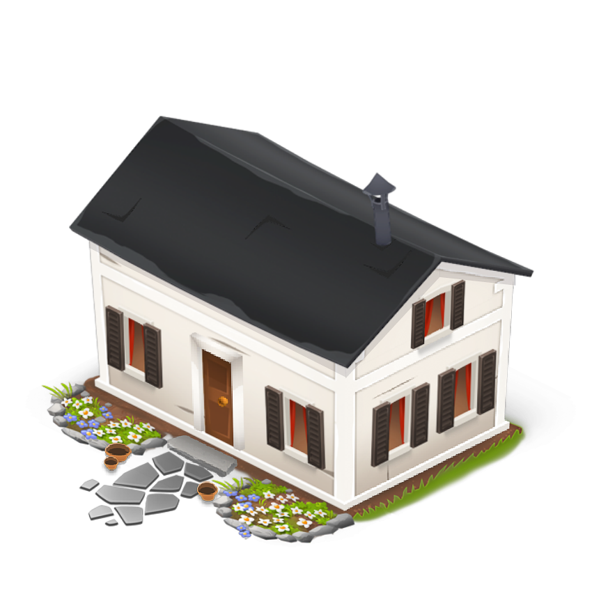 Png hd transparent images. Farmhouse clipart old fashioned house