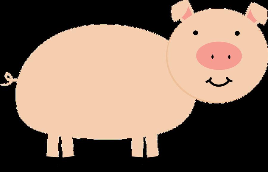 farmhouse clipart pig farm
