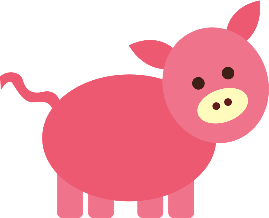 Fazenda minus clip art. Farmhouse clipart pig farm