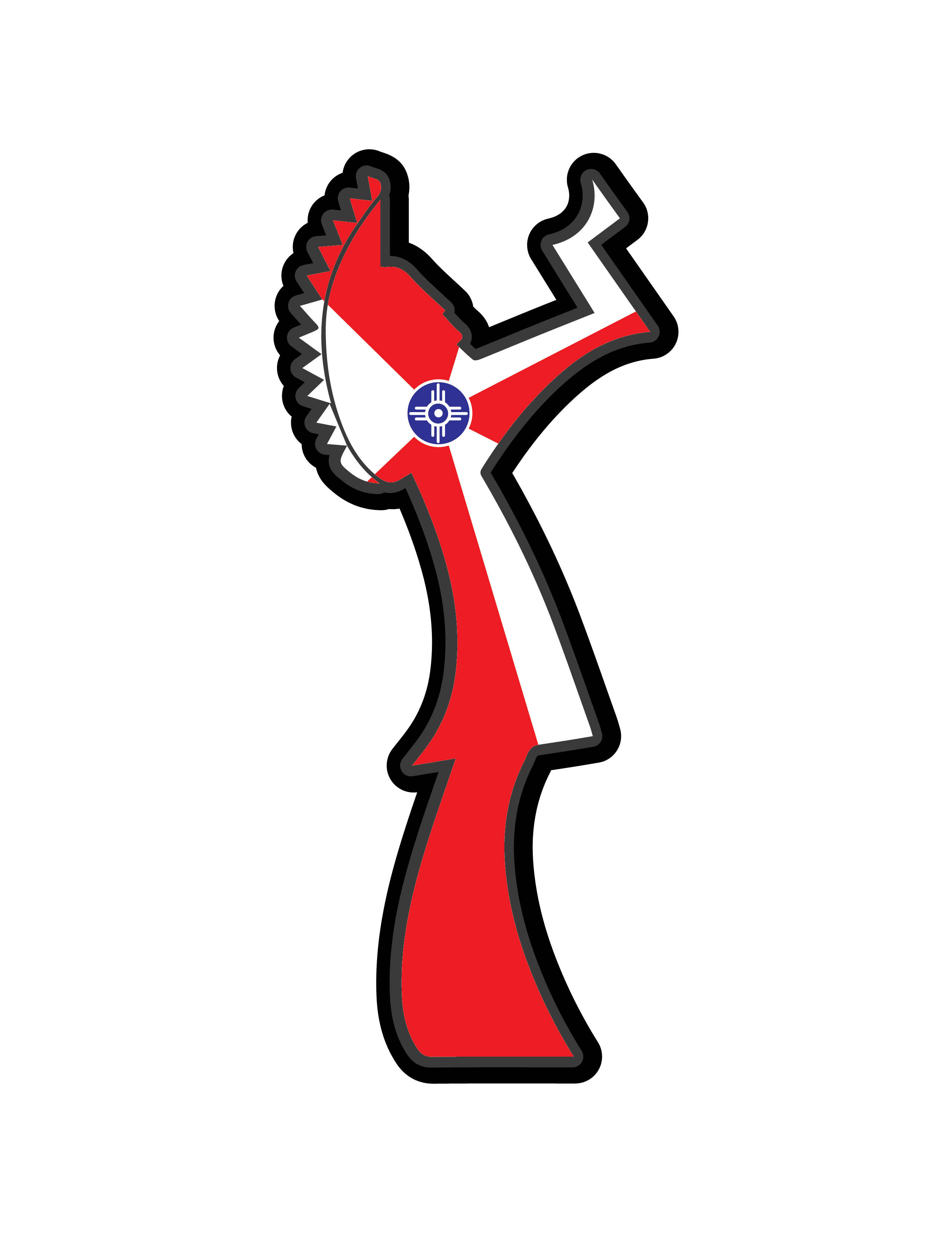 Wichita keeper of the. Mailbox clipart up flag