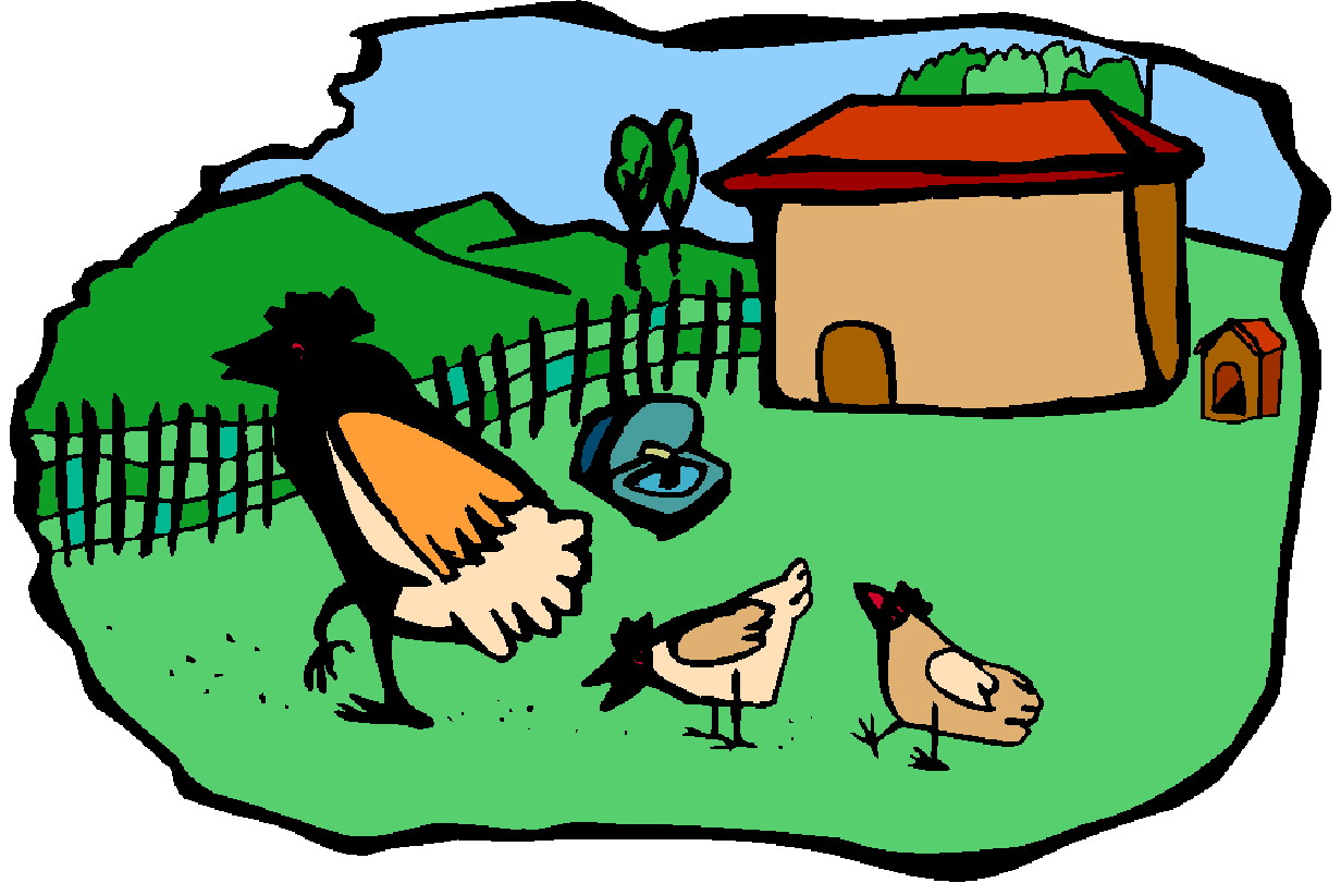Farming clipart poultry farm. Free chicken house cliparts