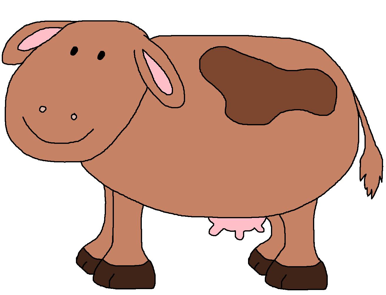 Vache avec pis thema. Farmhouse clipart preschool