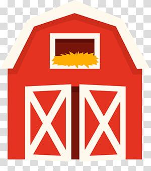 Barn farm cattle pen. Farmhouse clipart ranch house