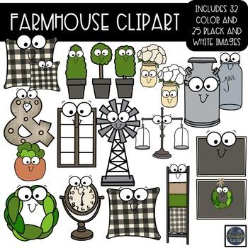 Farmhouse clipart teacher.
