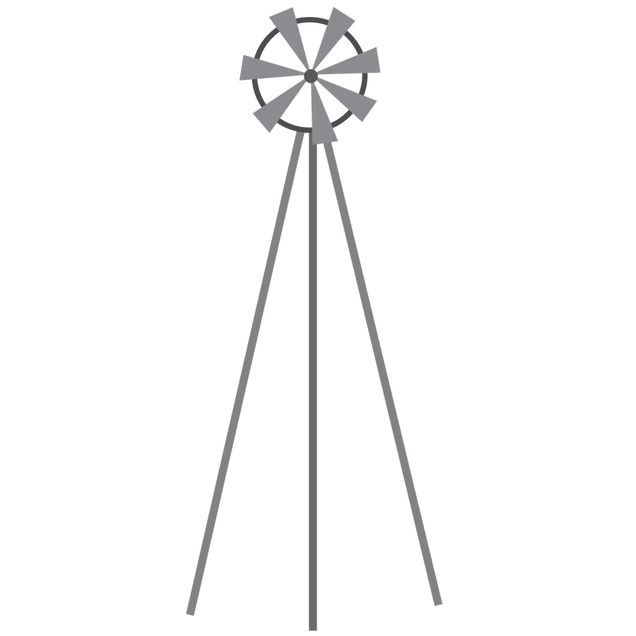 Fazenda minus clip art. Farmhouse clipart windmill