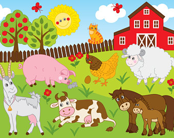 Farm etsy vector animals. Picture clipart