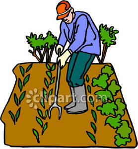 People . Farming clipart