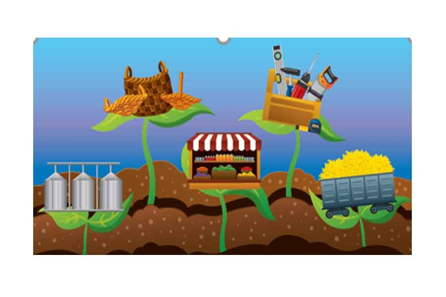 Farming clipart agricultural activity. Rural economy stimulating non