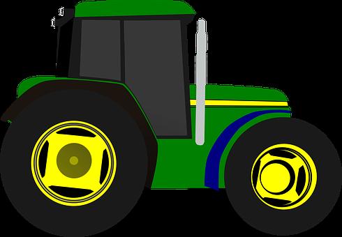 Farming clipart agriculture machine. Tractor farm equipment vehicle