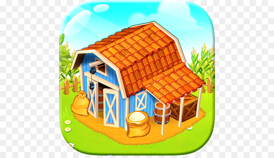 Farming clipart farm town. City background png download