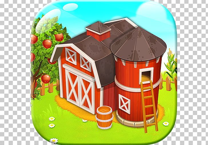 Happy day with game. Farming clipart farm town