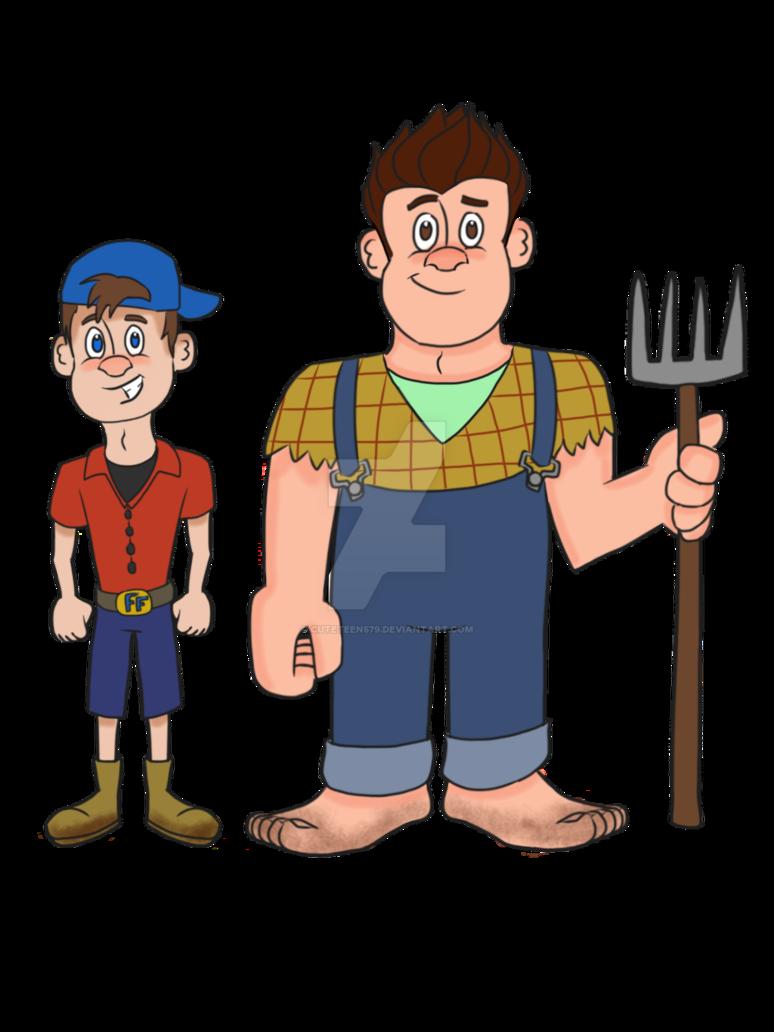 farming clipart farmer boy