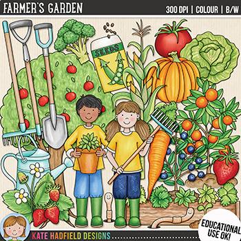 Farming clipart garden. Gardening clip art farmer