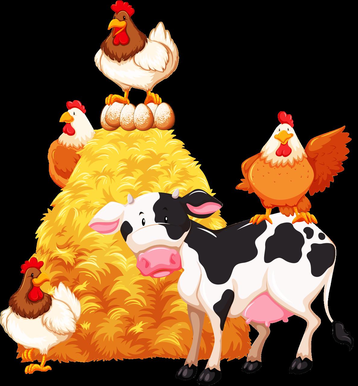 Farming clipart happy.  png clip art