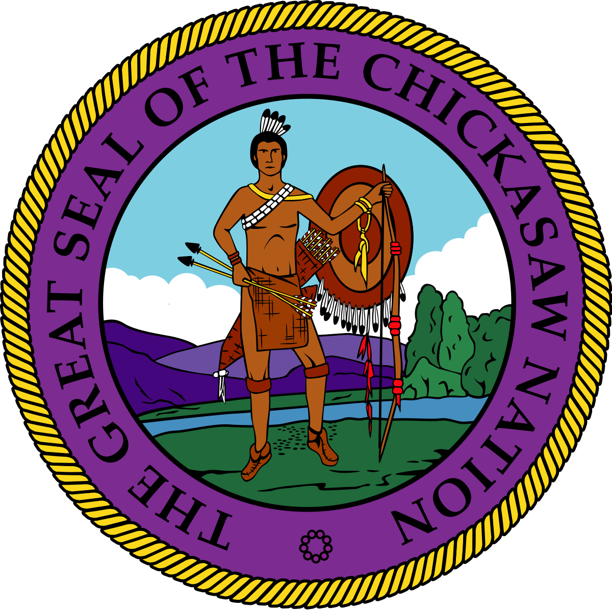 Florida clipart seminole tribe. Chickasaw nation wikipedia